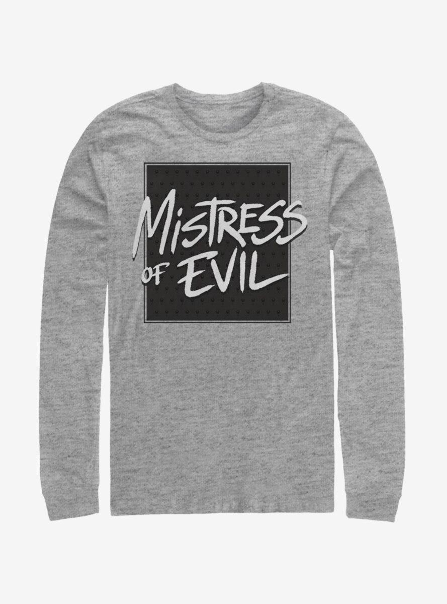 Disney Maleficent: Mistress Of Evil Bold Text Long-Sleeve T-Shirt