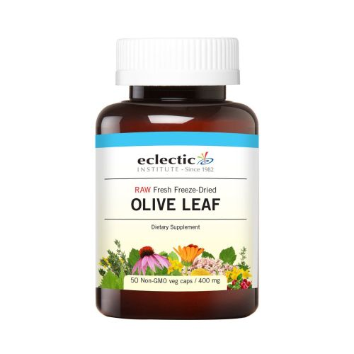 Olive Leaf 50 Caps by Eclectic Institute Inc