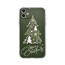 iPhone Schutzhuelle mit Weihnachtsbaum Muster
