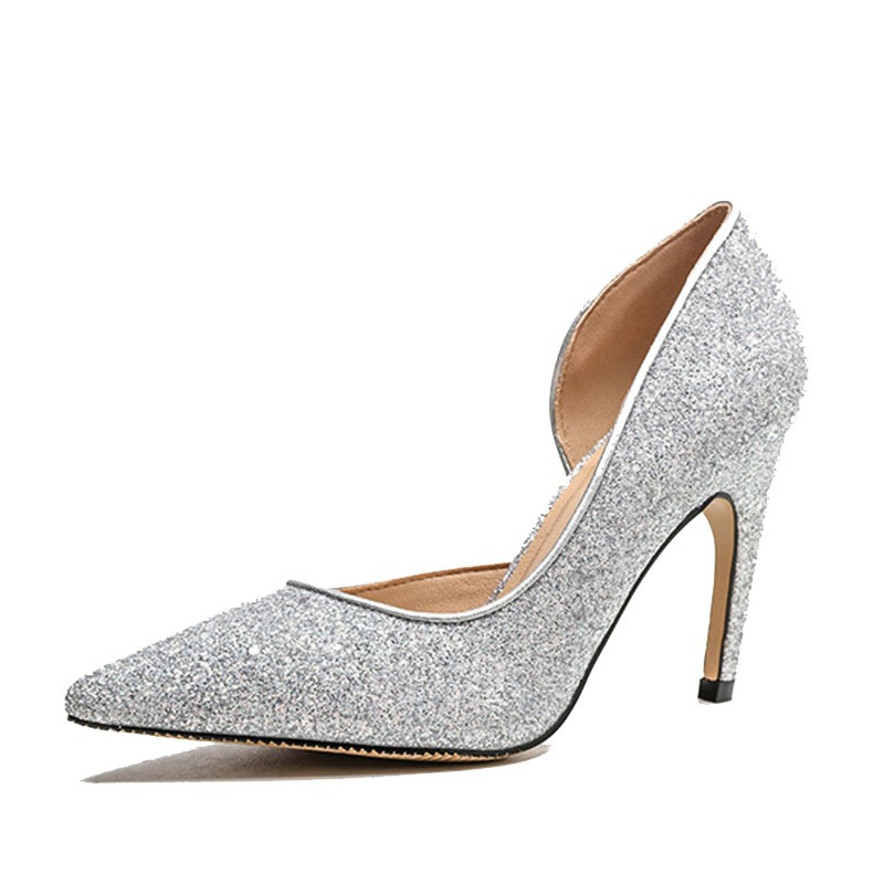 Ericdress Slip-On Thread Pointed Toe Low-Cut Upper Thin Shoes