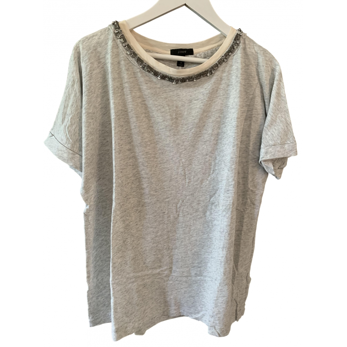 J.crew \N Top in  Grau Baumwolle