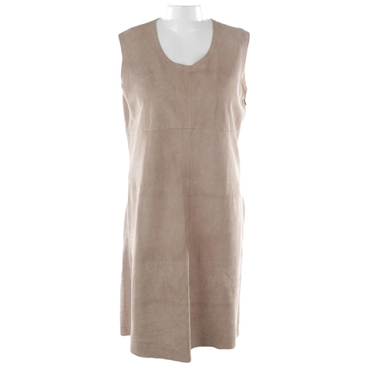 Fabiana Filippi \N Kleid in  Braun Wolle