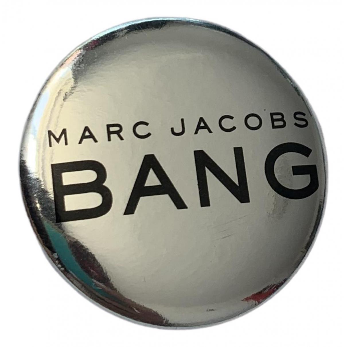 Marc Jacobs - Broche   pour femme en metal - gris