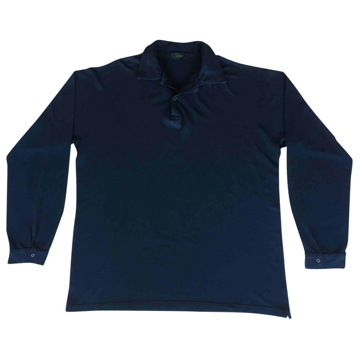 Zanone \N Poloshirts in  Blau Baumwolle