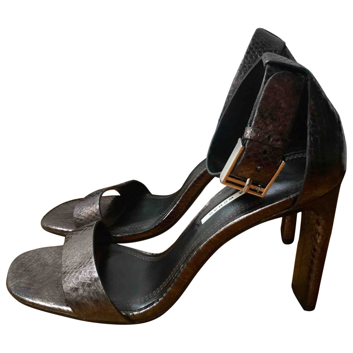Sandalias de Cuero Zara