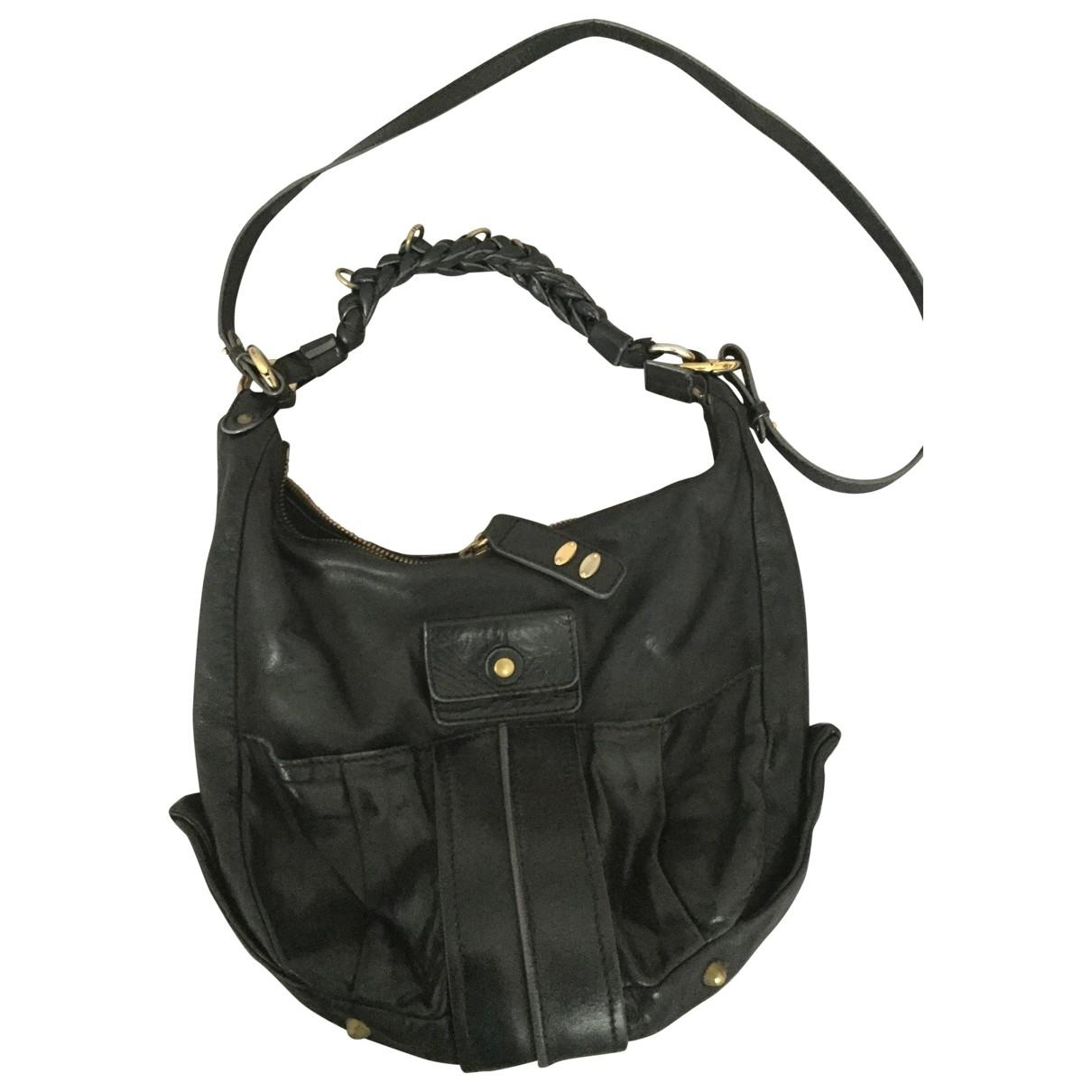 Chloé Héloise Black Leather handbag for Women \N