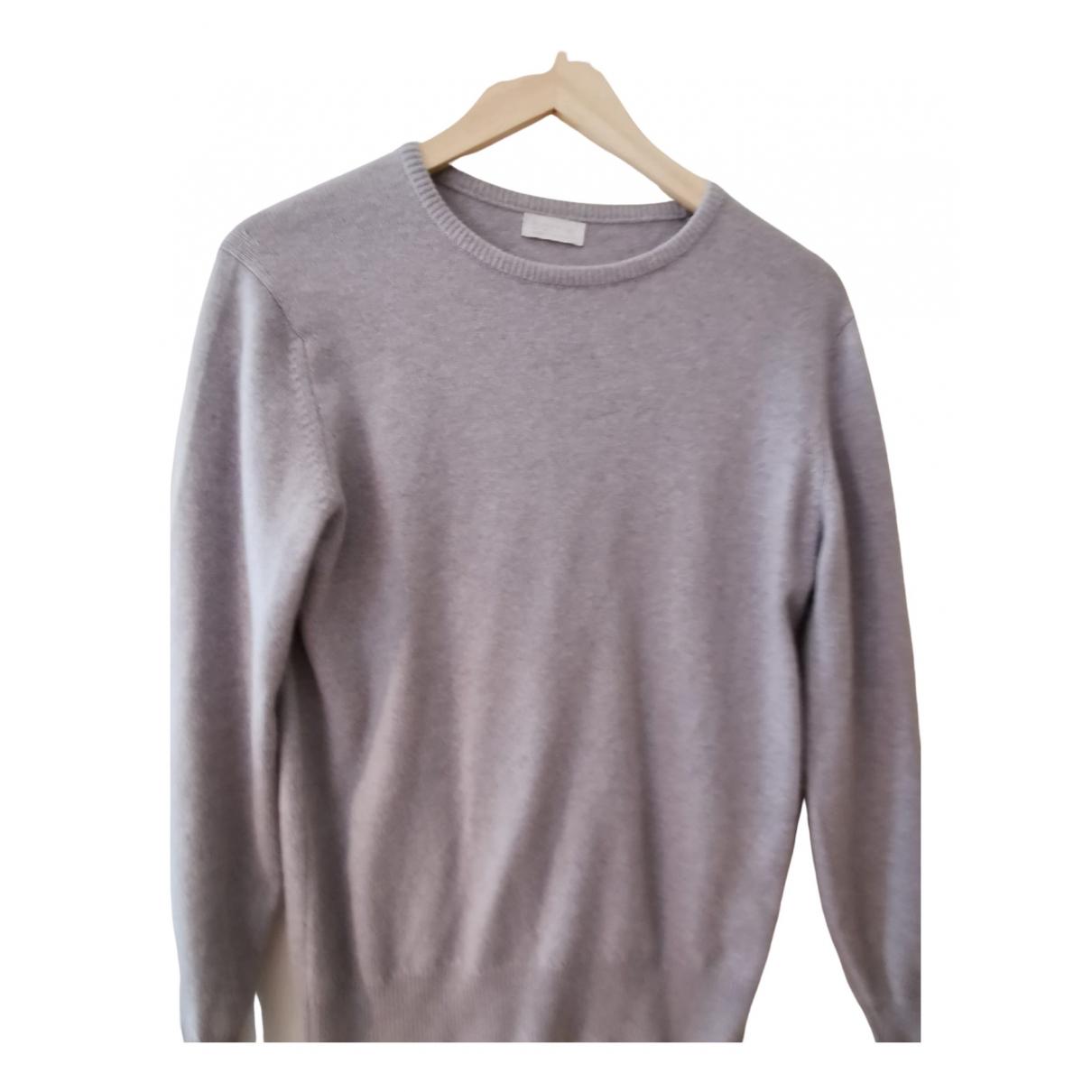 Barrie - Pull   pour femme en cachemire - gris