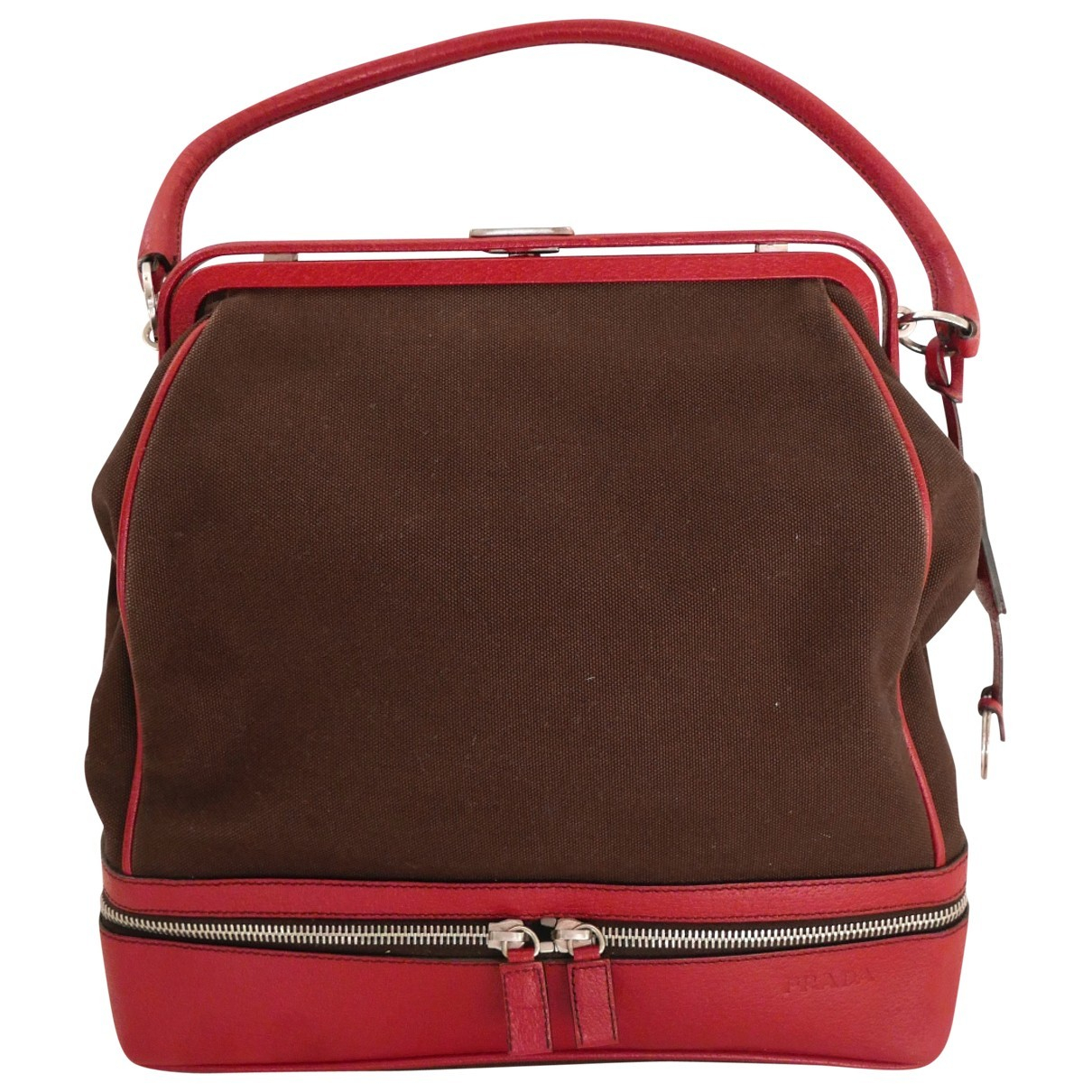 Prada \N Brown Cloth handbag for Women \N