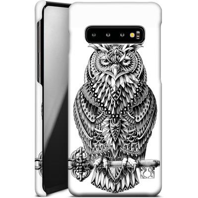Samsung Galaxy S10 Smartphone Huelle - Great Horned Owl von BIOWORKZ