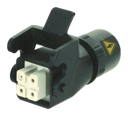 HARTING Han A 920 Series Cable Mount Coupler, Female, 3 Way, 10A, 400 V
