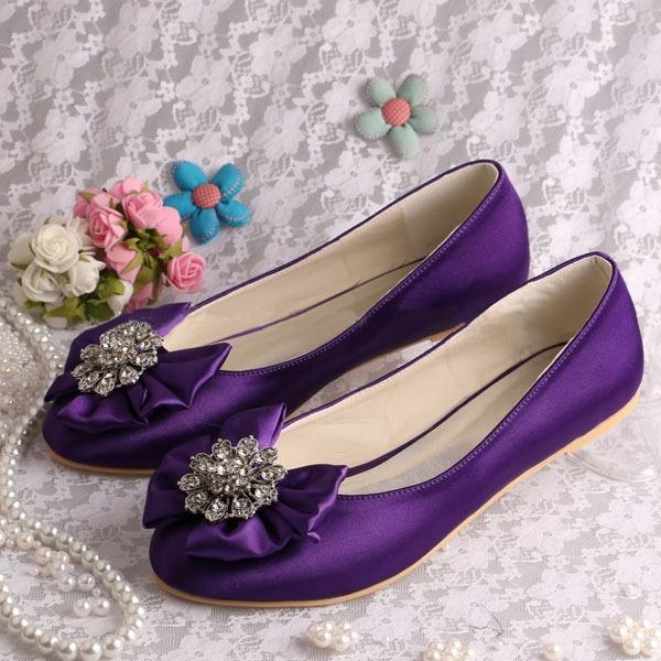 Ericdress Comfortable Flat Wedding Shoes