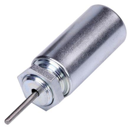 Johnson Electric Push Action Tubular Solenoid, 12.2 V dc, 4W