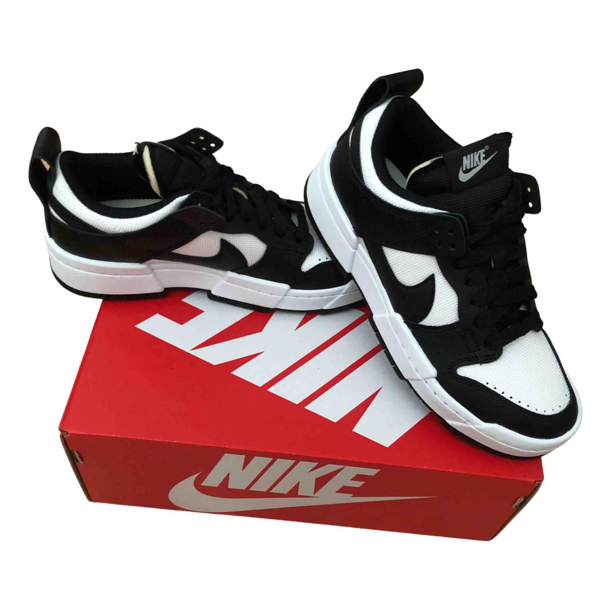 Nike - Baskets   pour femme en cuir - blanc