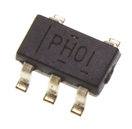 Texas Instruments TPS61040DBVR, 1-Channel, Step Up DC-DC Converter, Adjustable, 350mA 5-Pin, SOT-23 (5)