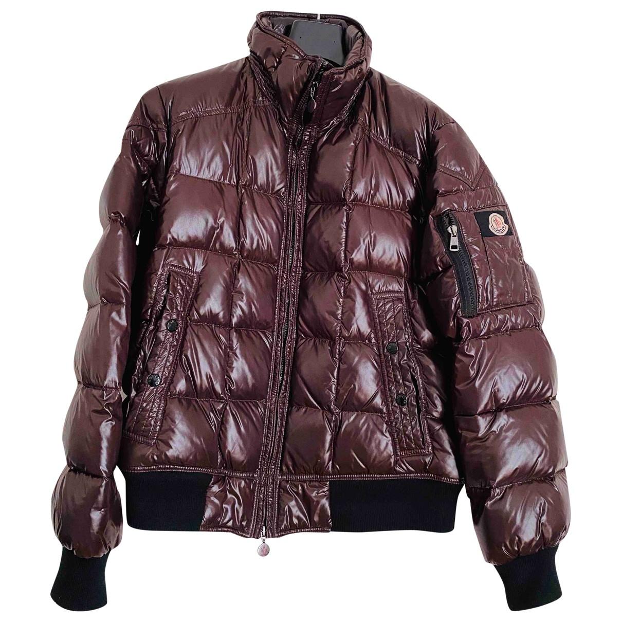 Moncler - Manteau   pour homme - marron