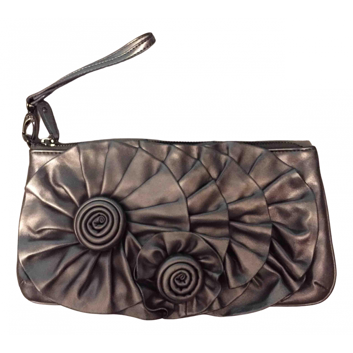 Nine West N Metallic Leather Clutch bag for Women N