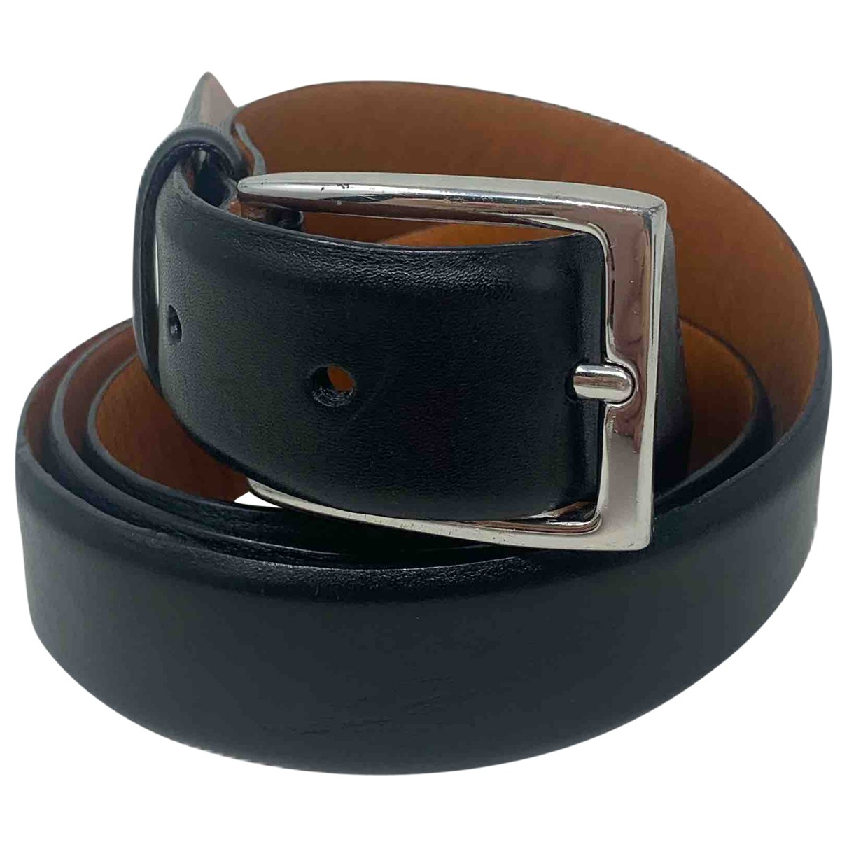 Polo Ralph Lauren \N Black Leather belt for Women L International