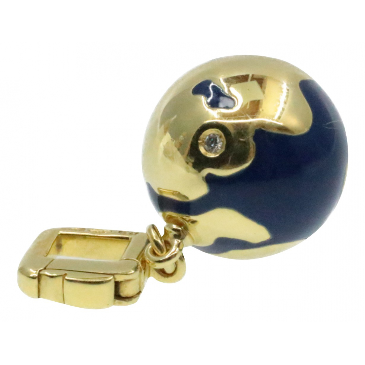 Louis Vuitton \N Kleinlederwaren in  Gold Synthetik