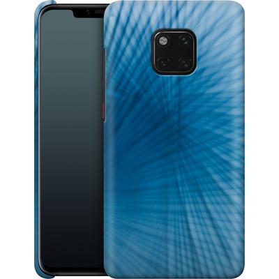 Huawei Mate 20 Pro Smartphone Huelle - Blue Lines von Joy StClaire