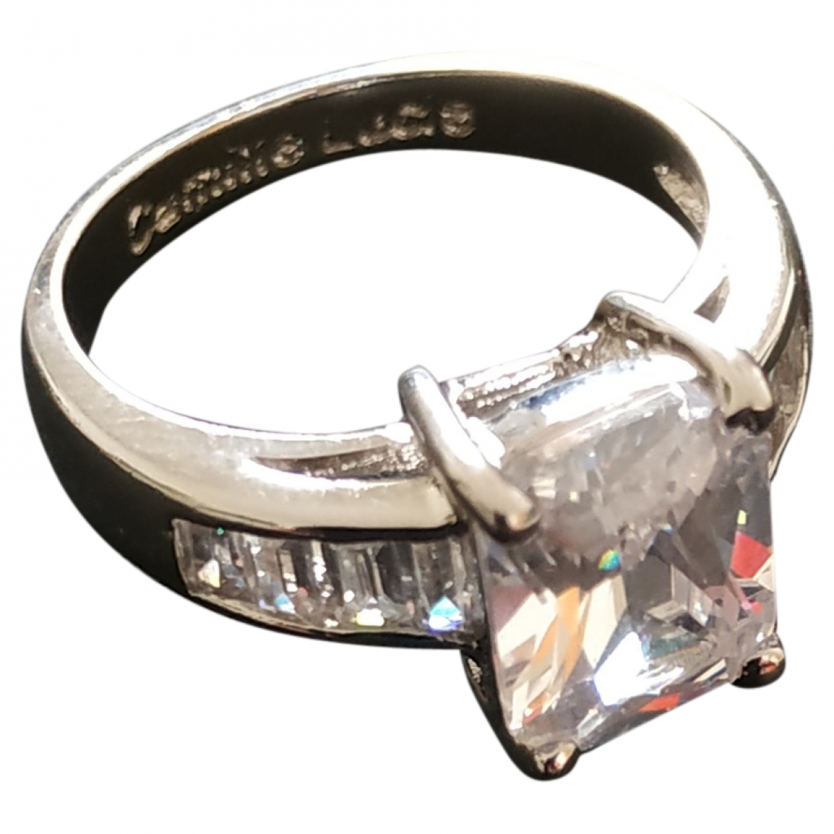 Non Signé / Unsigned \N Silver Silver Plated ring for Women \N