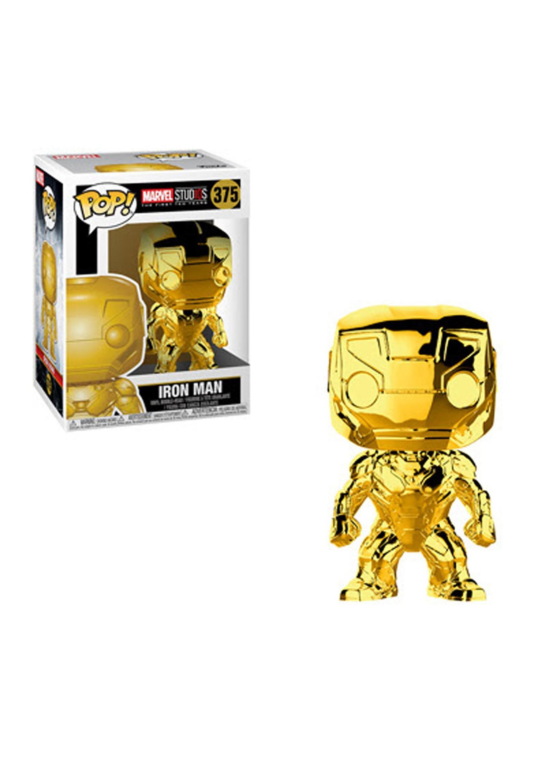 Funko Pop! Marvel Studios 10- Chrome Iron Man