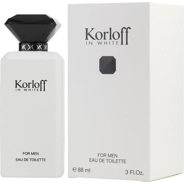 In White - Korloff Eau de Toilette Spray 90 ml
