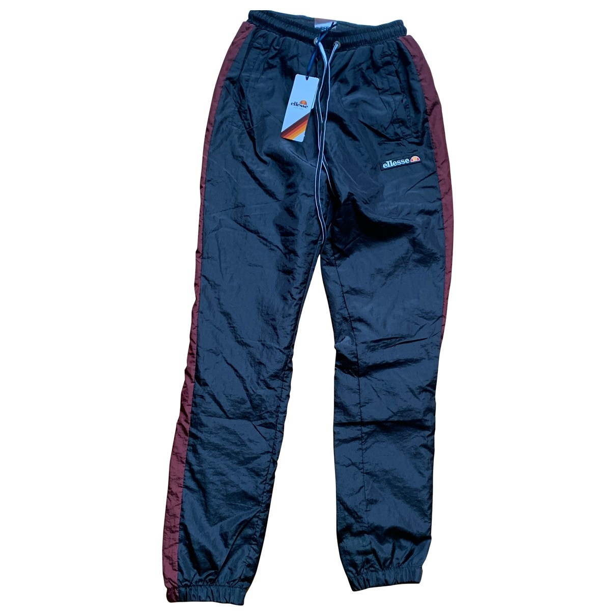 Ellesse \N Black Trousers for Women S International