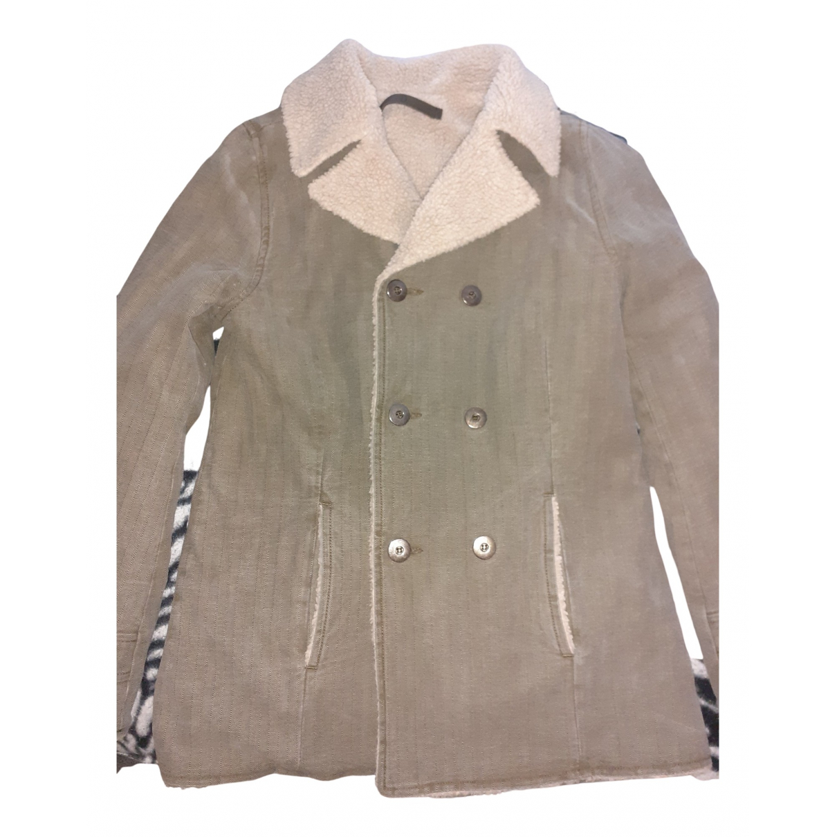 Dondup N Beige Cotton jacket & coat for Kids 12 years - XS FR