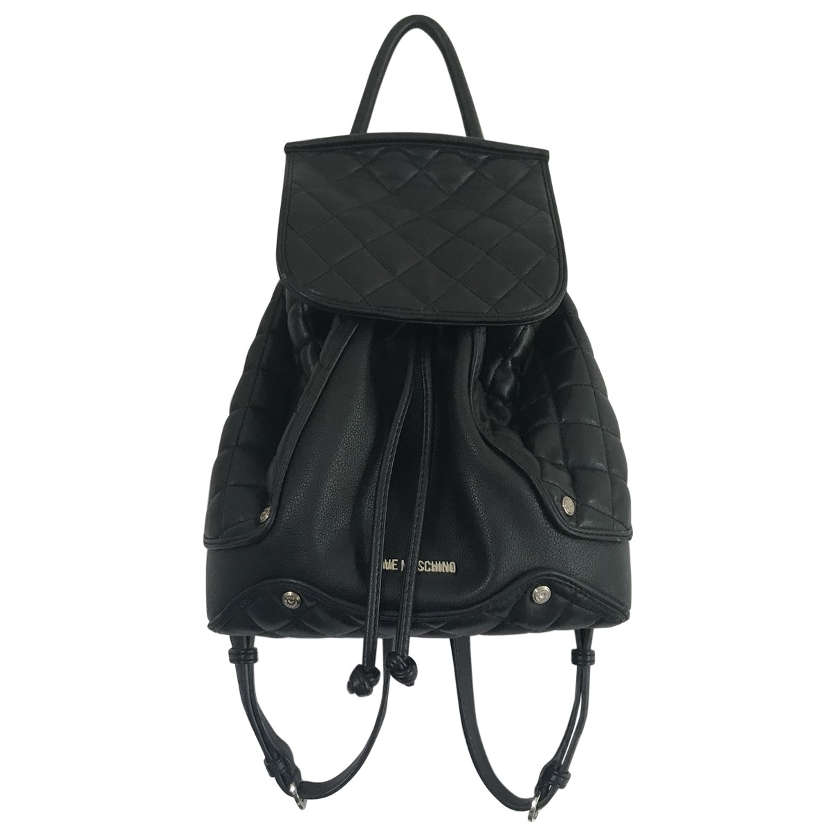 Moschino Love - Sac a dos   pour femme en cuir - noir