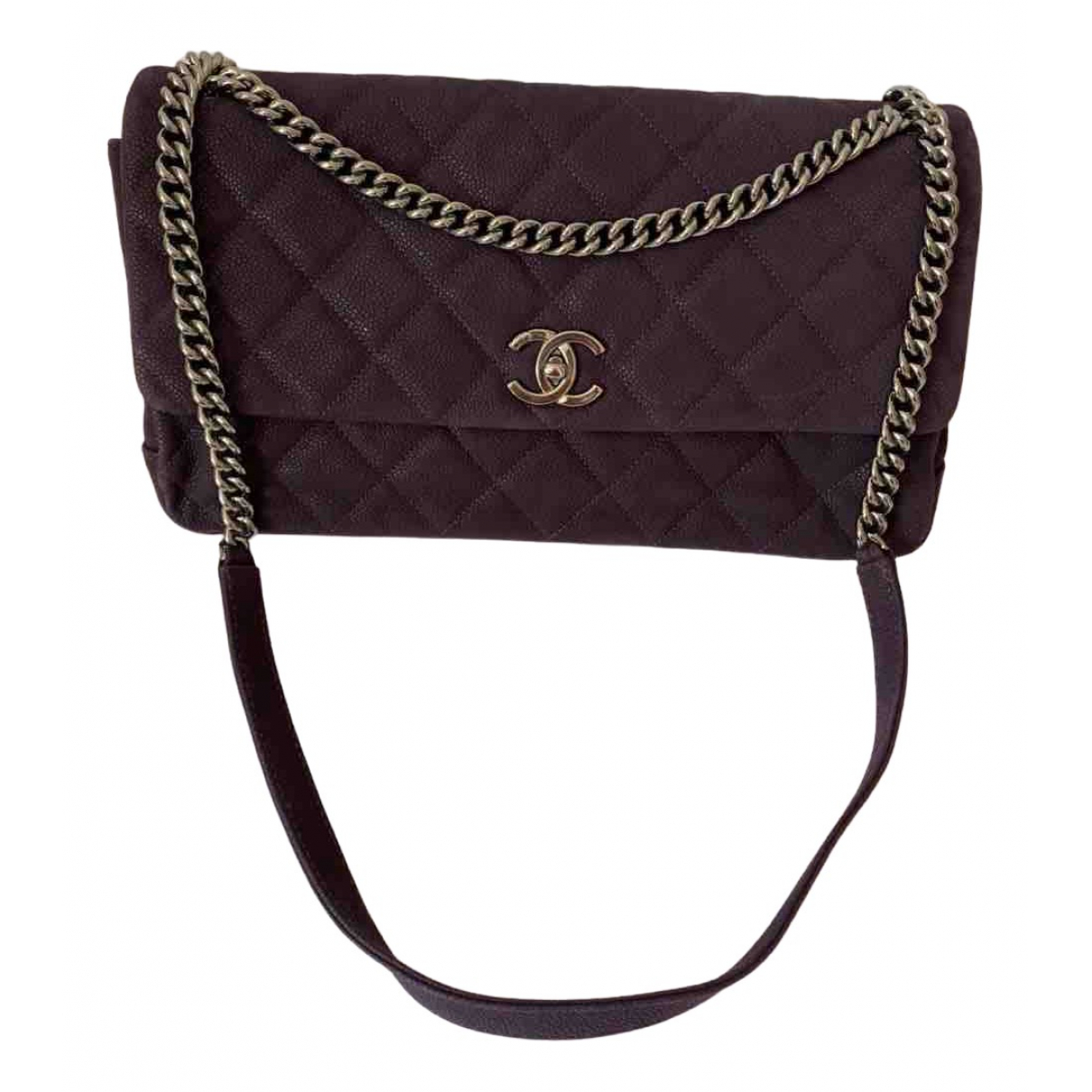 Bandolera Timeless/Classique de Cuero Chanel