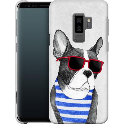 Samsung Galaxy S9 Plus Smartphone Huelle - Frenchie Summer Style von Barruf