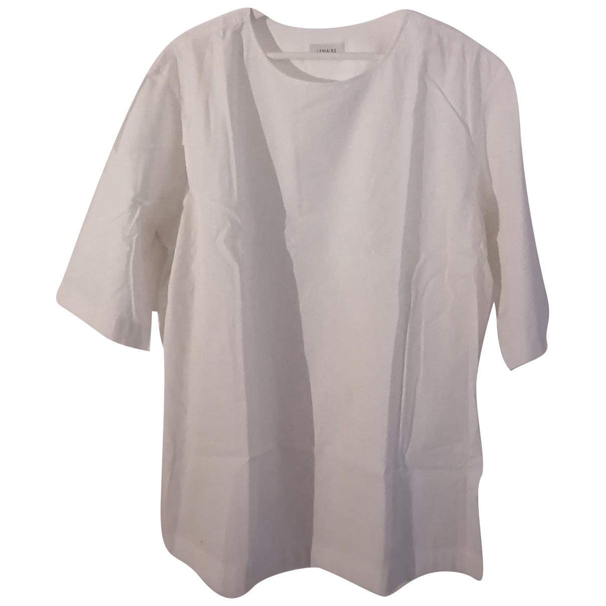 Lemaire - Tee shirts   pour homme en coton - blanc