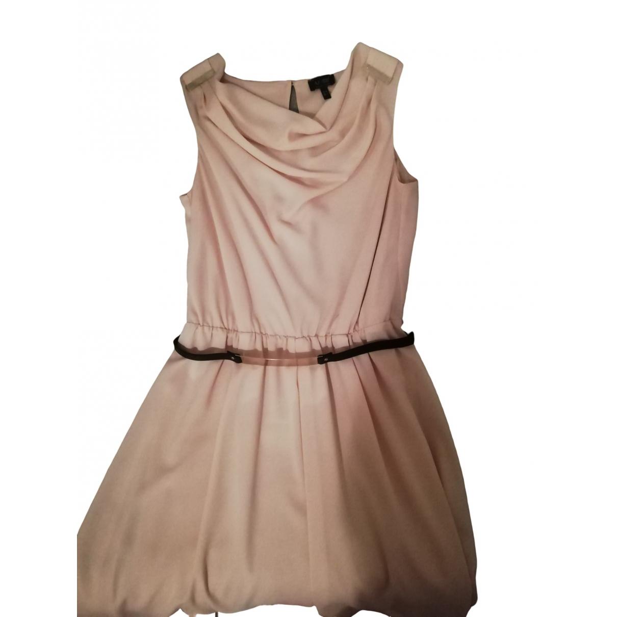 Armani Jeans \N Kleid in  Beige Seide