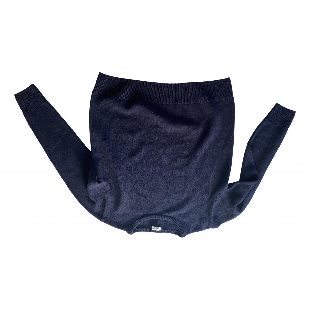 Dries Van Noten \N Blue Wool Knitwear for Women M International