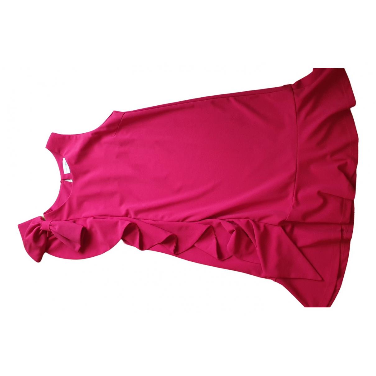 Teria Yabar \N Kleid in  Rot Polyester