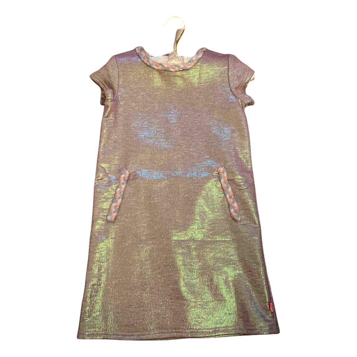 Billieblush - Robe    pour enfant en coton - multicolore