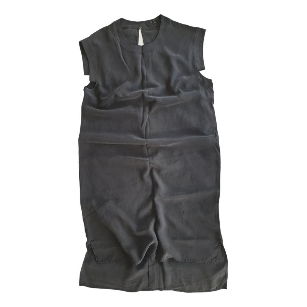 Mini vestido de Seda All Saints