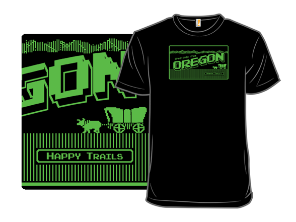 Greetings From Oregon T Shirt