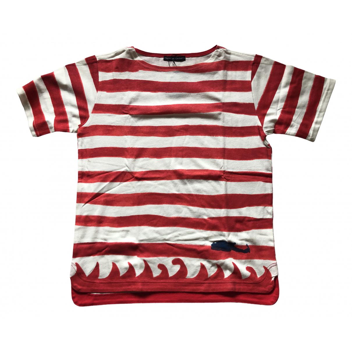 Tsumori Chisato - Tee shirts   pour homme en coton - rouge