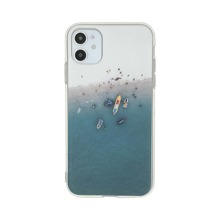 1pc Beach Print iPhone Case