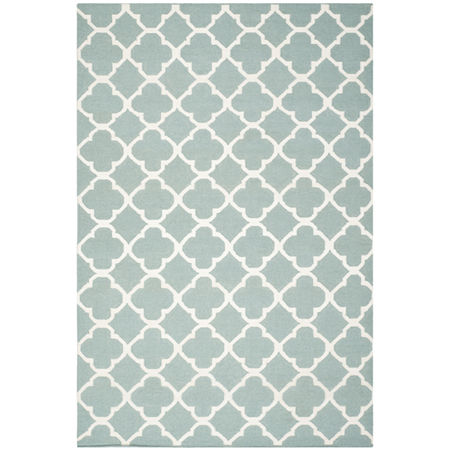 Safavieh Cady Hand Woven Flat Weave Area Rug, One Size , Blue