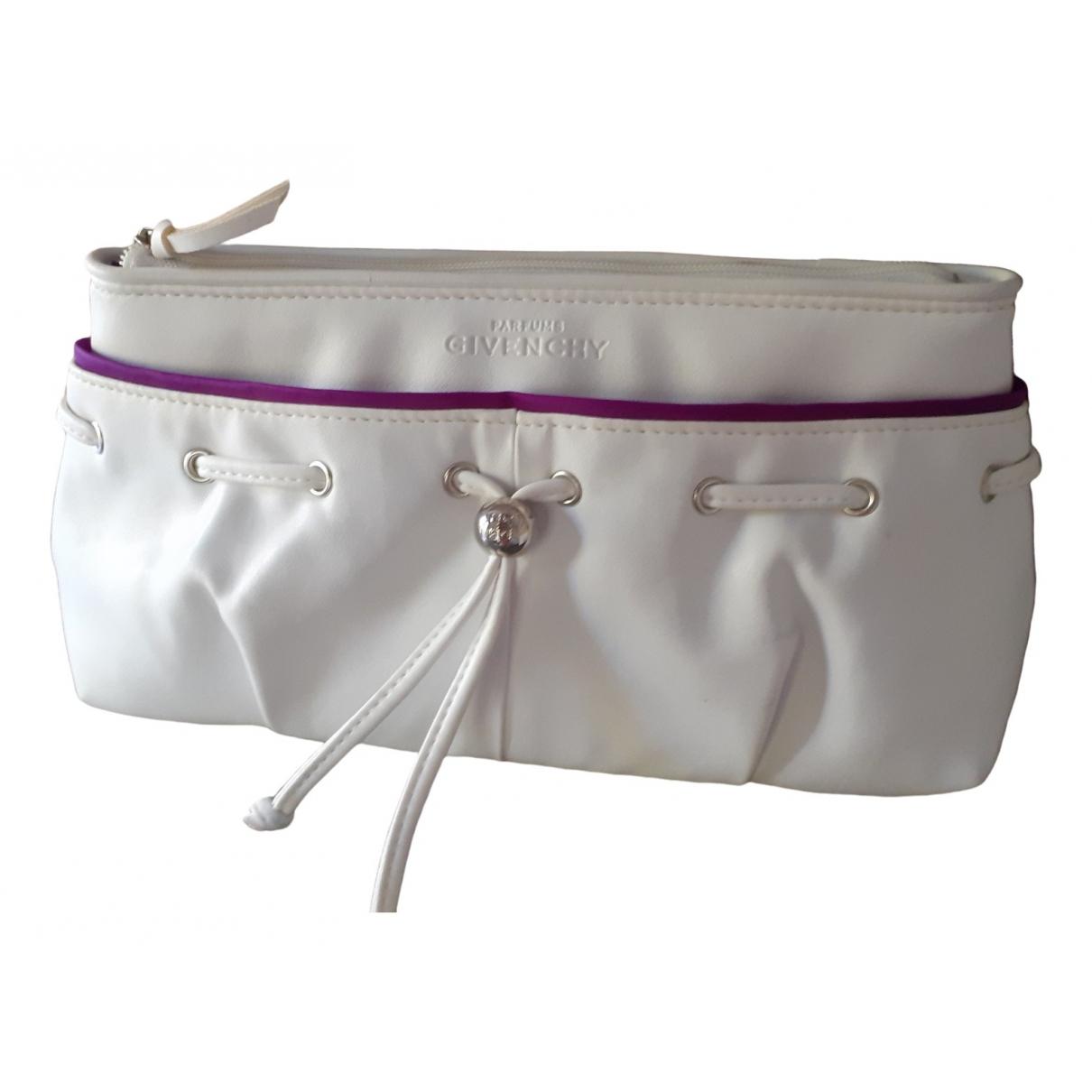 Bolsos clutch en Plastico Blanco Givenchy