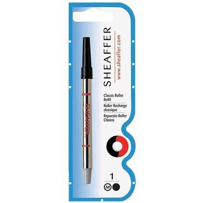 Sheaffer@ recharge de rouleau classique - 1,0 mm pointe moyenne (Noir / Bleu) - noir