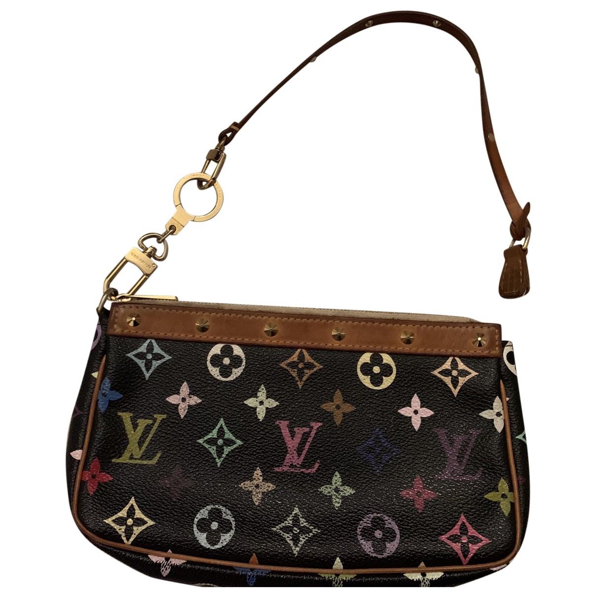 Louis Vuitton - Pochette Pochette Accessoire pour femme en toile - noir