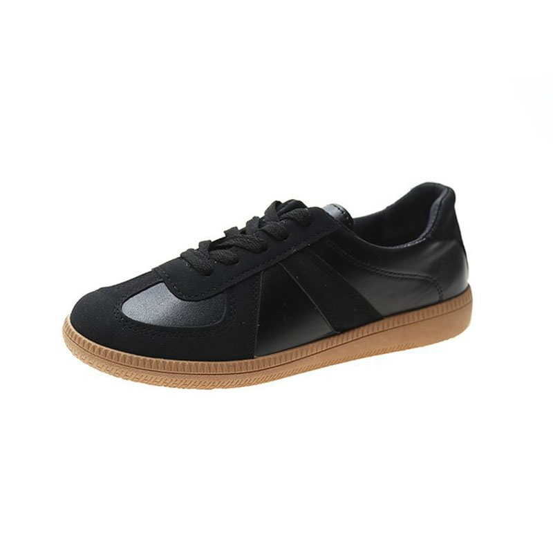 Ericdress Thread Lace-Up Round Toe PU Sneakers