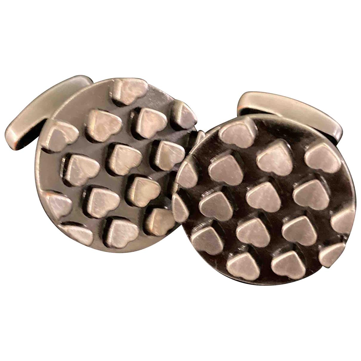 Paul Smith N Silver Metal Cufflinks for Men N