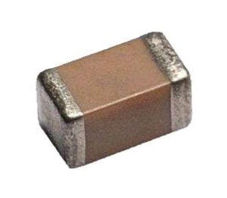 AVX 0402 (1005M) 1nF Multilayer Ceramic Capacitor MLCC 16V dc ±5% SMD 0402YC102JAT2A (10000)