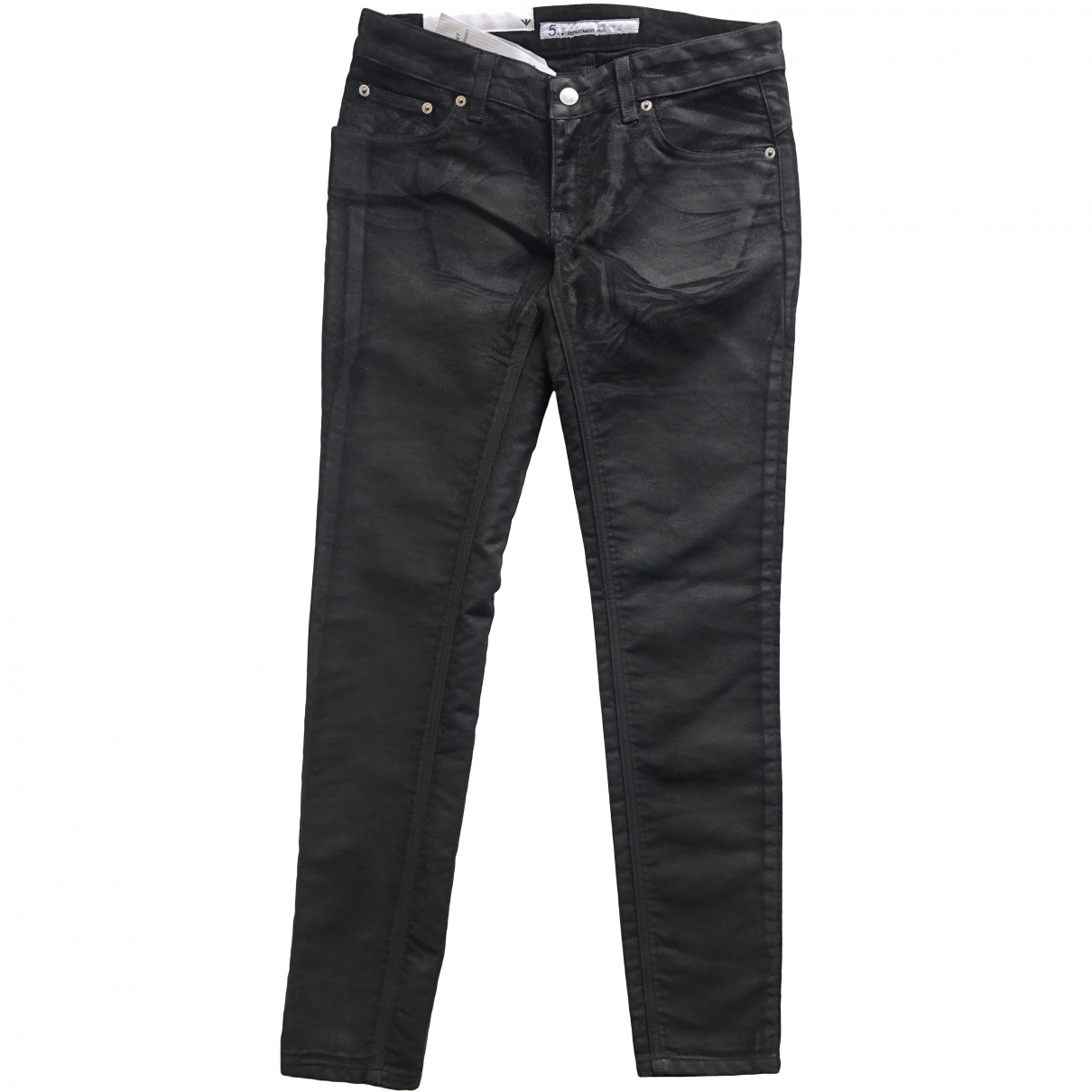 Department 5 N Black Cotton Jeans for Women 27 US