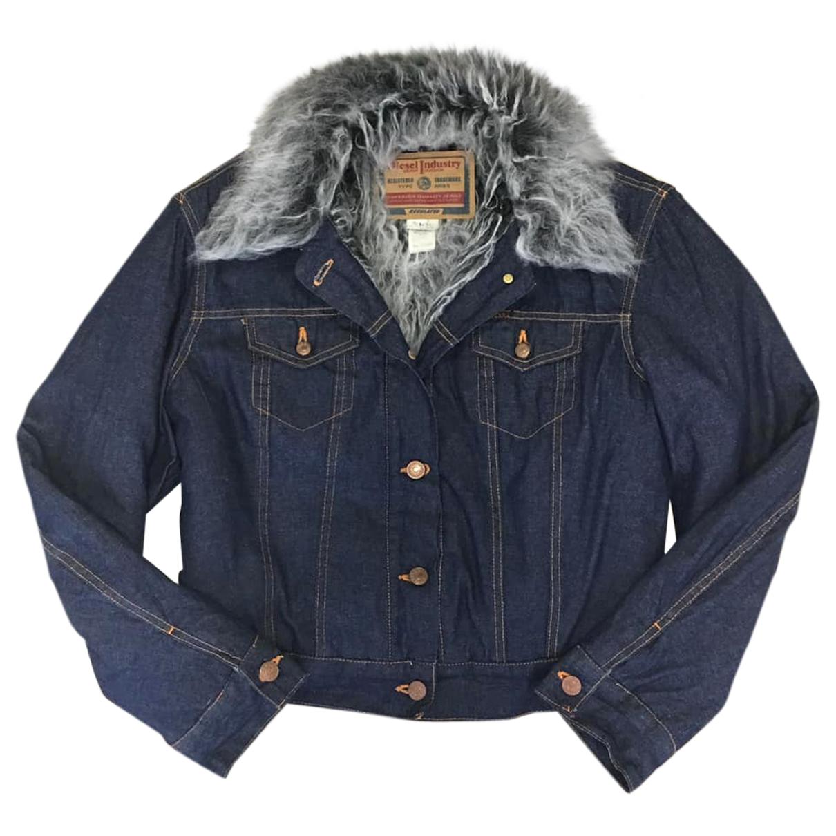 Diesel \N Blue Denim - Jeans jacket for Women L International