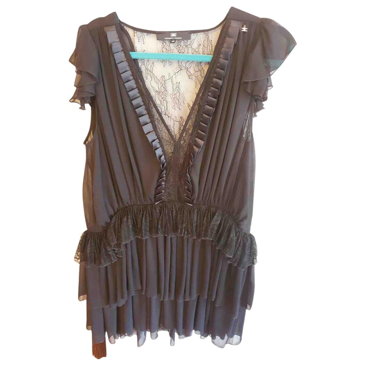 Elisabetta Franchi \N Black dress for Women 46 IT